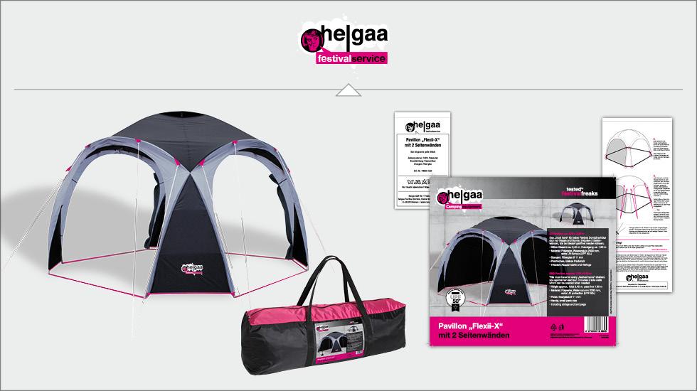 Campingartikel Produkt- und Verpackungsdesign