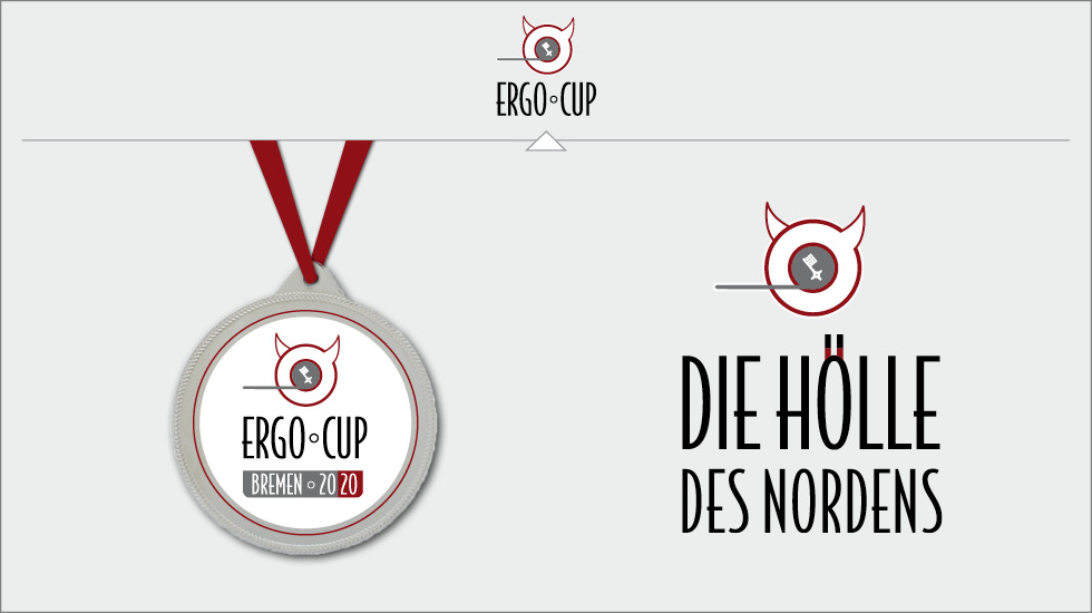 Ergo-Cup Bremen Corporate Design